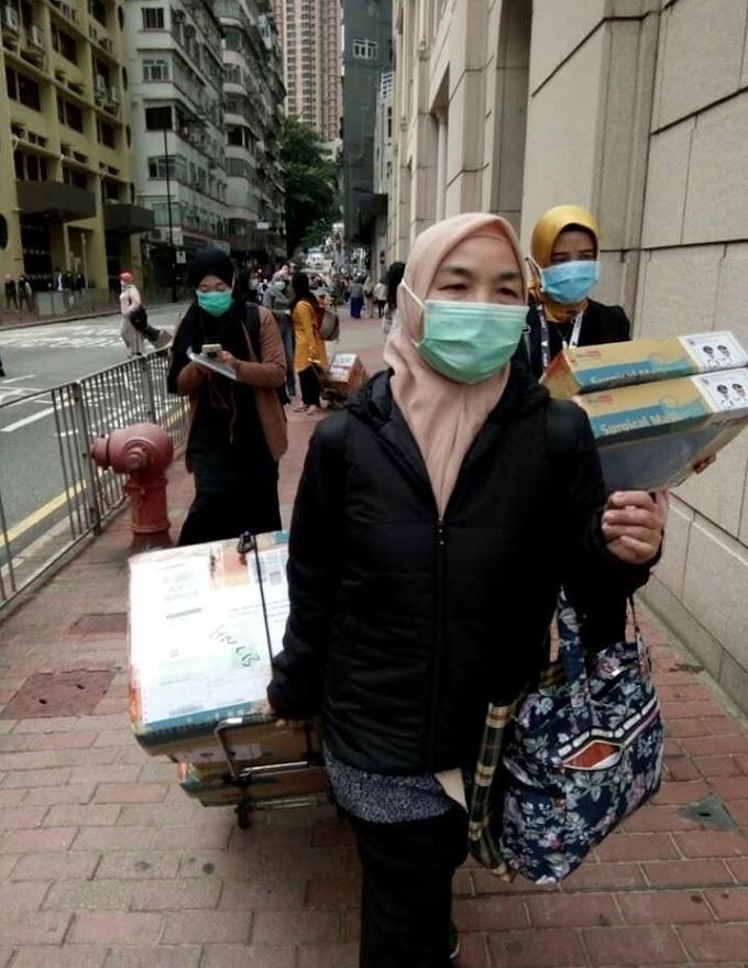 "Virus CORONA ""  Bantuan Masker Pemkab Jember Datang ,PMI Hongkong Ucapkan  Salam Ke Bupati Jember"
