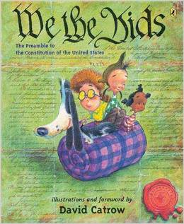 We the Kids book to introduce the Preamble to the Constitution.