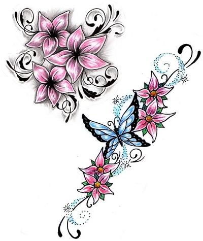Diseños De Flores Para Tatuar