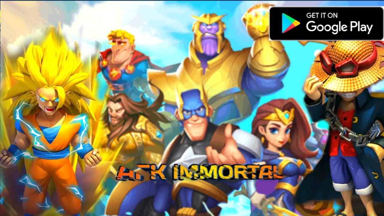 AFK Immortal Legends of Heroes Mod Apk Download