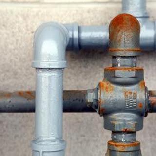 Instalación exterior tubería fierro galvanizado