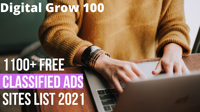 1100+ Free Classified Ads Site List 2021