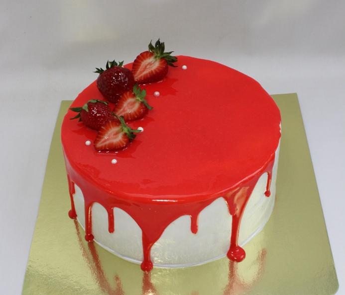 глазурь для торта с фото