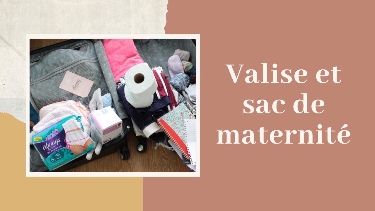 Valise sac maternité accouchement