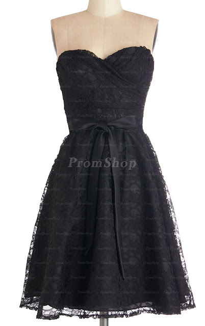 """8 Classic Dresses for Prom"" Blog Post/Article by @TheGracefulMist (www.TheGracefulMist.com) - Black Lace Dress"