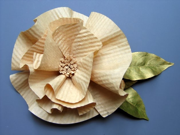 Coffee Filter Flower Tutorial by Ann Martin