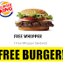 Free Whopper Burger From Burger King!