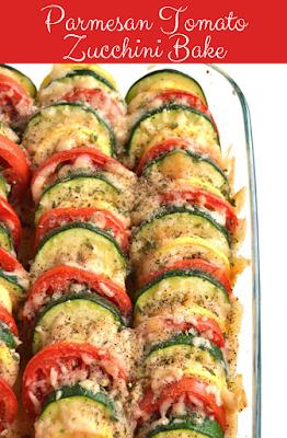 viral parmesan tomato zucchini bake recipe