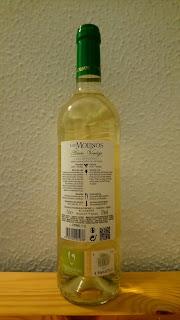 Vino blanco de Mercadona Los Molinos, DO Valdepeñas, Joven