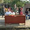 Semarak TMMD Ke 105 TA 2019 Dengan Pertandingan Sepak Bola Antar Dusun