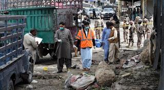 Bom Bunuh Diri di Pasar Syiah Pakistan, 20 Orang Tewas