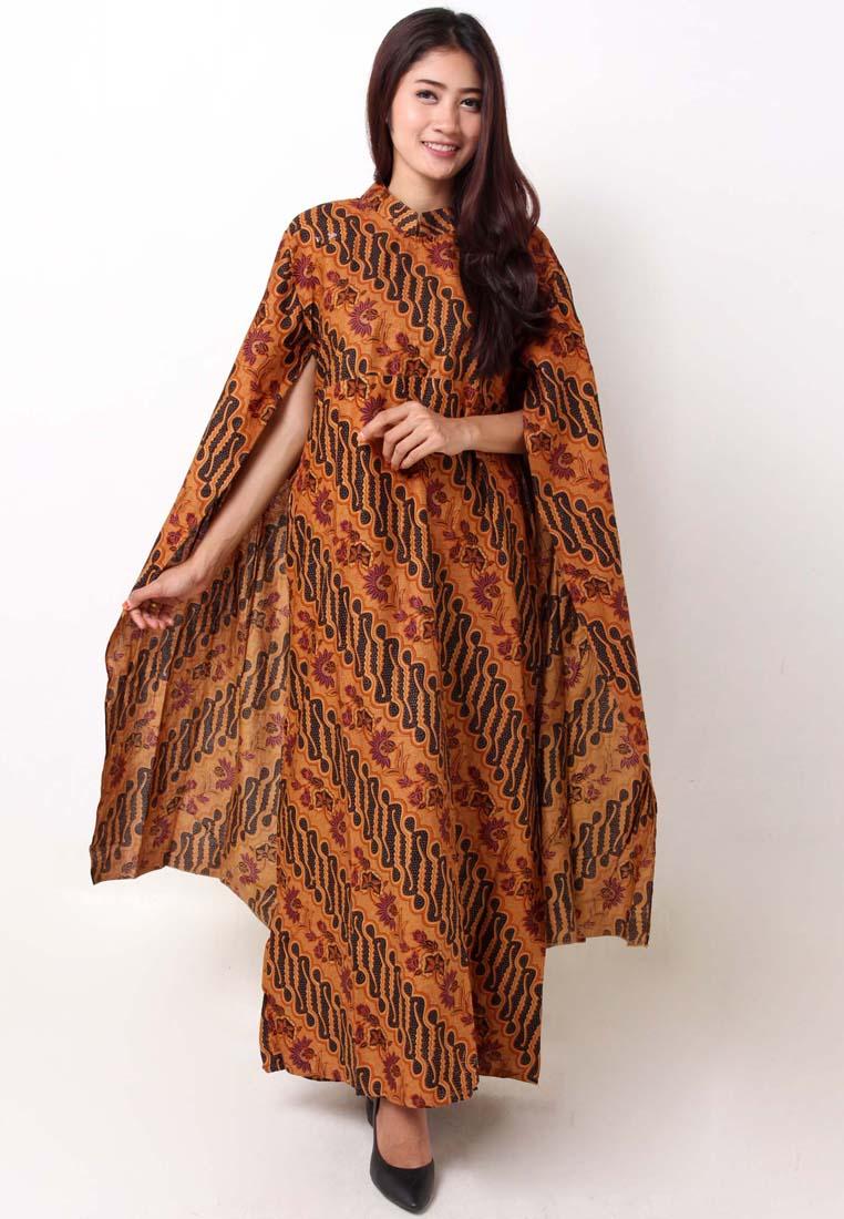 Randomtalk Lengkapi Koleksi Pakaianmu Dengan Gamis Batik Modern