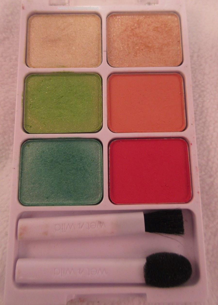 Wet n Wild California Roll Color Icon Eyeshadow Palette Silver Lake Collection
