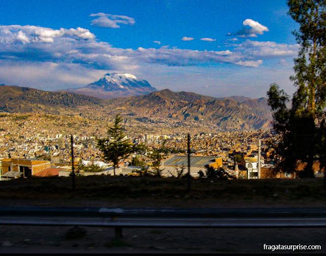 La Paz, Bolívia, Pico Illimani