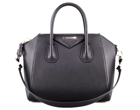 2ee9689bacef It is the leather patch that you can see right between the handles having  that Givenchy logo on it.