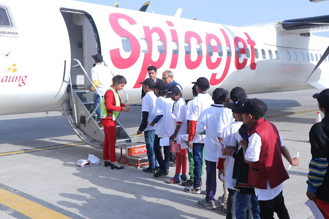 SpiceJet spreads joy to 50 underprivileged children through its 'Giving Wings to Dreams' programme