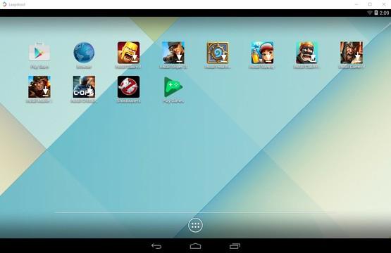 Emulator Android Leapdroid