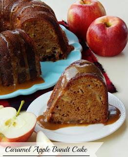 Caramel Apple Bundt Cake