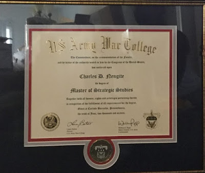 Nigerian soldier wins 6 awards, emerges Best Graduand at U.S. War College