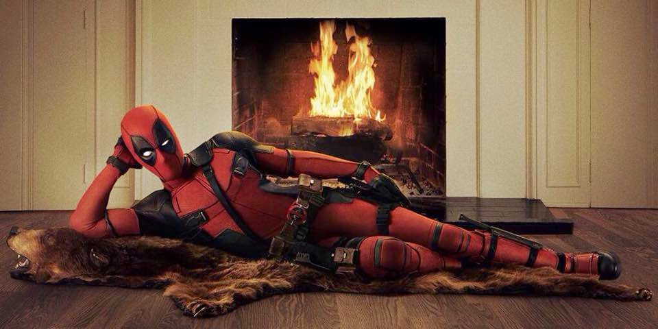 First official look at Ryan Reynolds as Deadpool in the new 2016 movie.