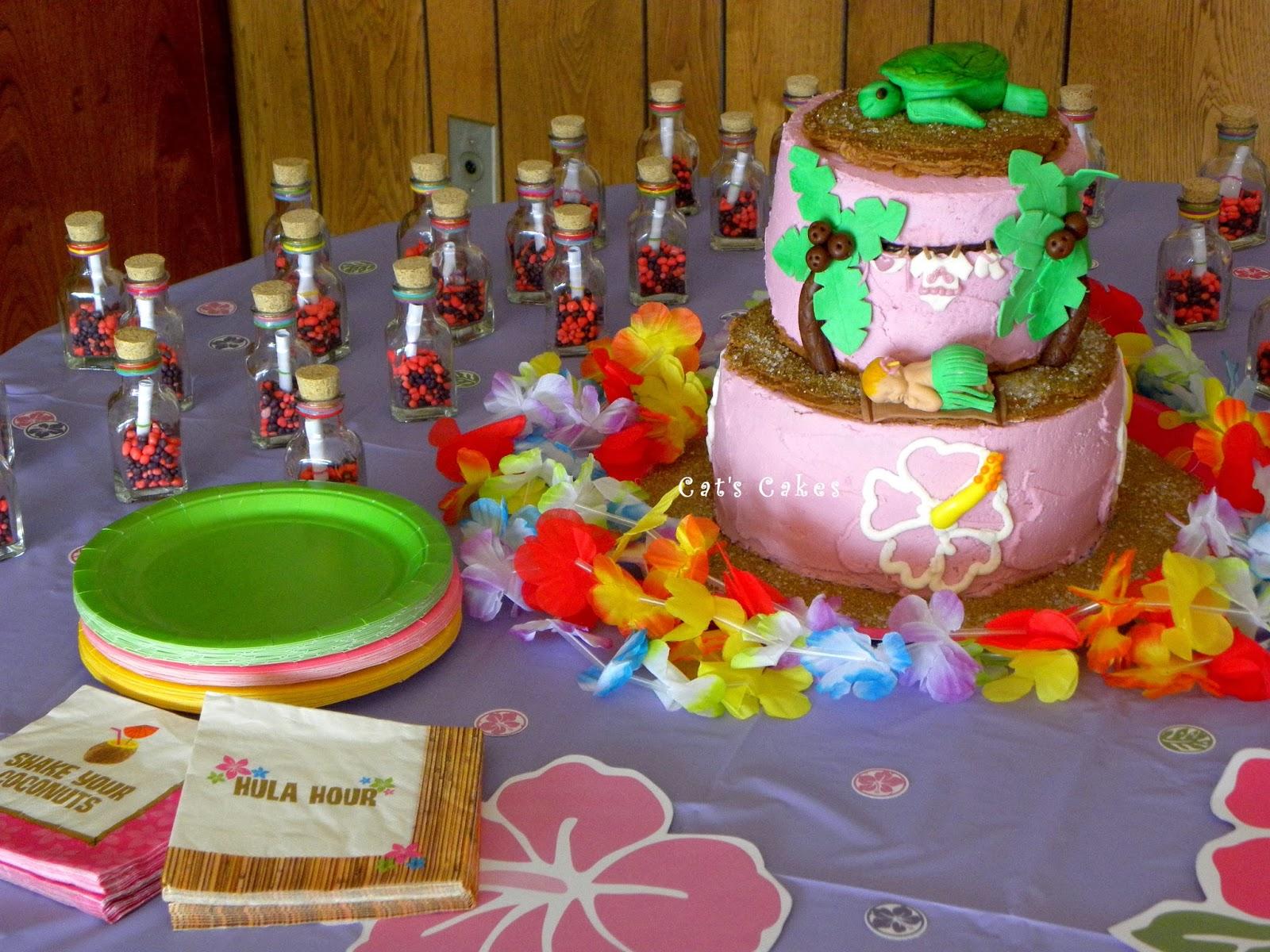 Living Room Decorating Ideas: Luau Baby Shower Cake Ideas