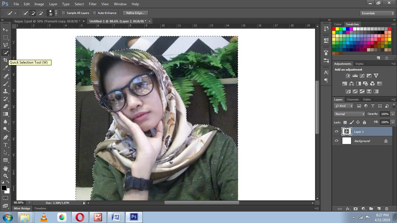 Yuniarti: Cara Edit Foto di Photoshop CS6 (Watercolor Effects)