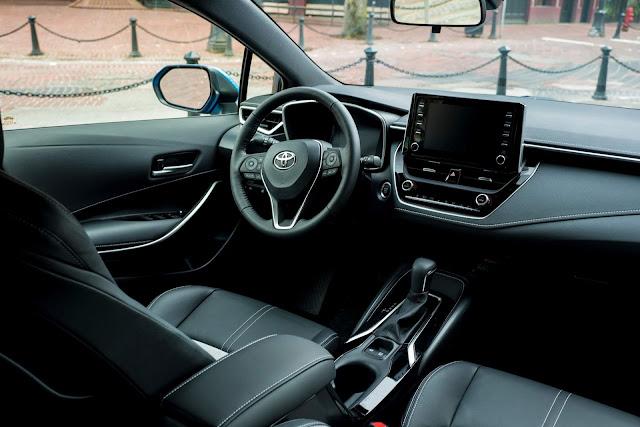 Novo Corolla 2019 - interior
