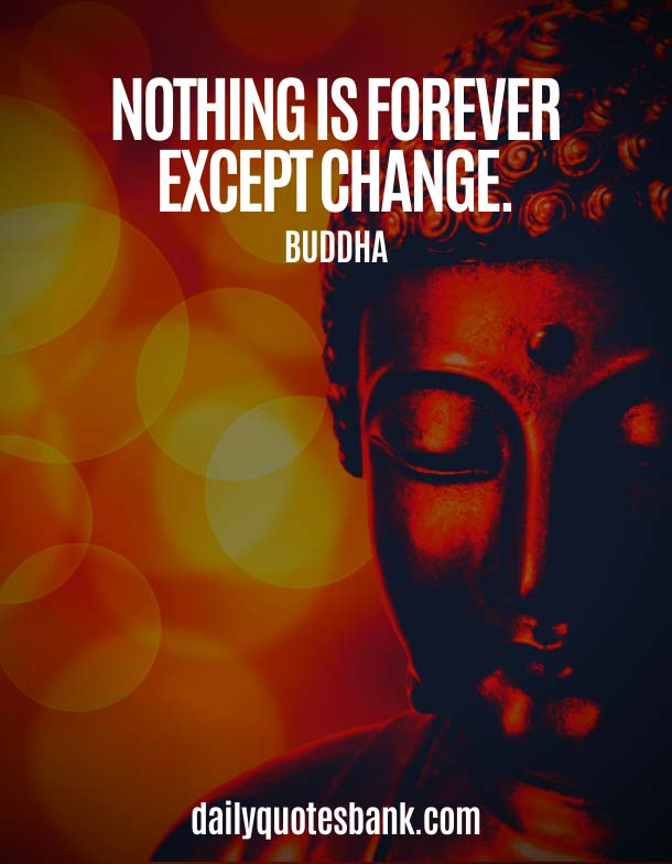 Short Buddha Quotes On Changing Yourself