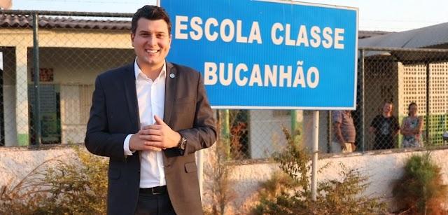 O Deputado Eduardo Pedrosa visita escolas contempladas com emendas parlamentares de sua autoria
