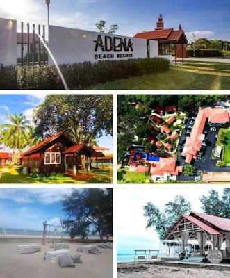 adena beach resort kuantan lokasi