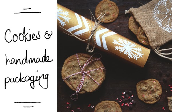 Happiness is... DIY Gifts - Handmade cookies and packaging