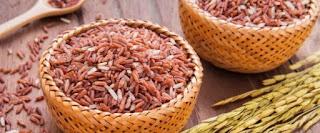 beras merah makanan terbaik penurun gula darah