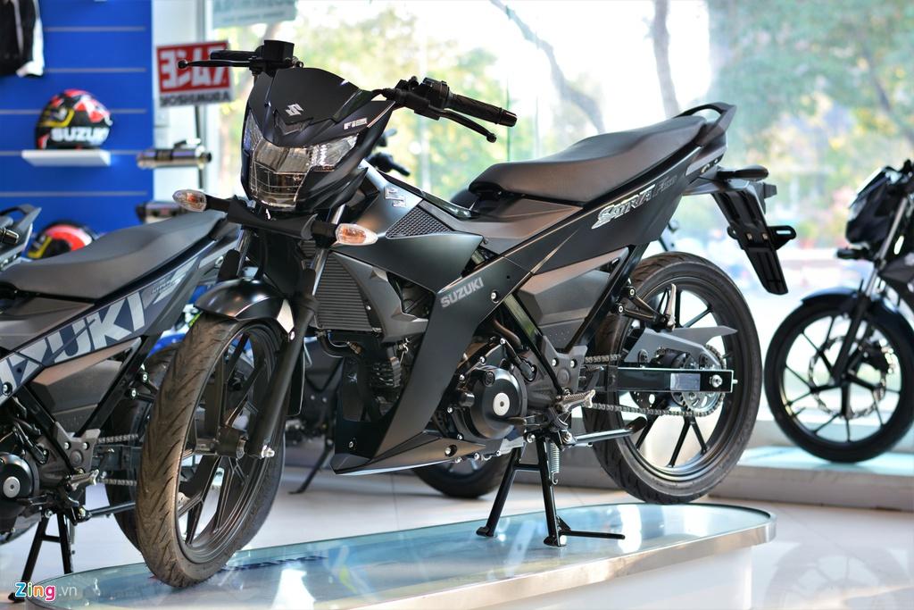 Chi tiết Suzuki Satria F150 chính hãng tại VN giá 52 triệu