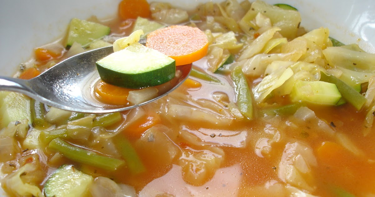 Cabbage Soup Diet - A New Look and Weekly Menu