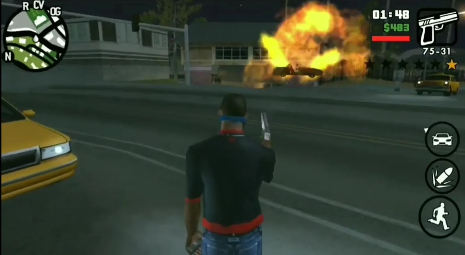 Grand theft Auto san Andreas mobile