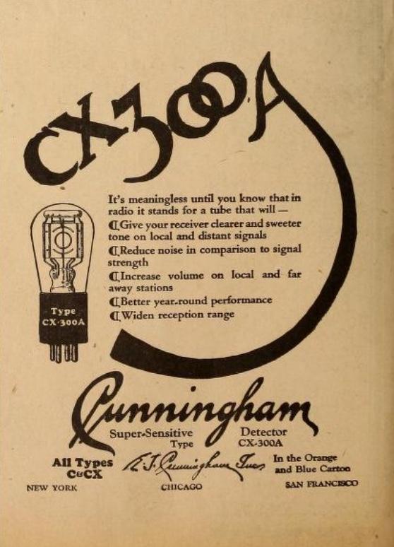 Cunningham CX300A