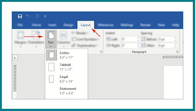 Cara Setting Ukuran Kertas F4 (Ukuran dalam cm,mm,inch dan Penggunaanya)