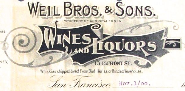 Those Pre-Pro Whiskey Men!: California\'s Weils: All in the Family ...