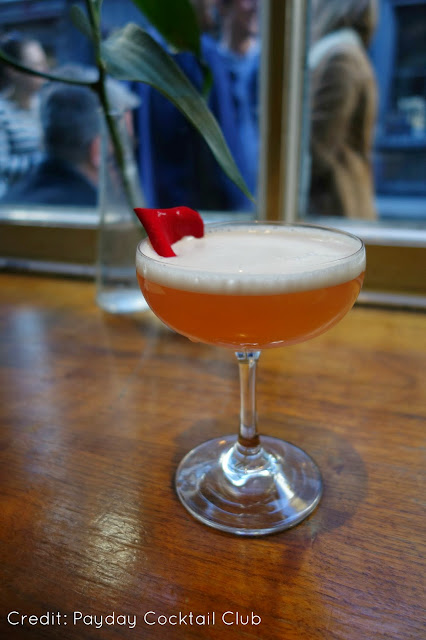 Cocktails at Mildreds Soho
