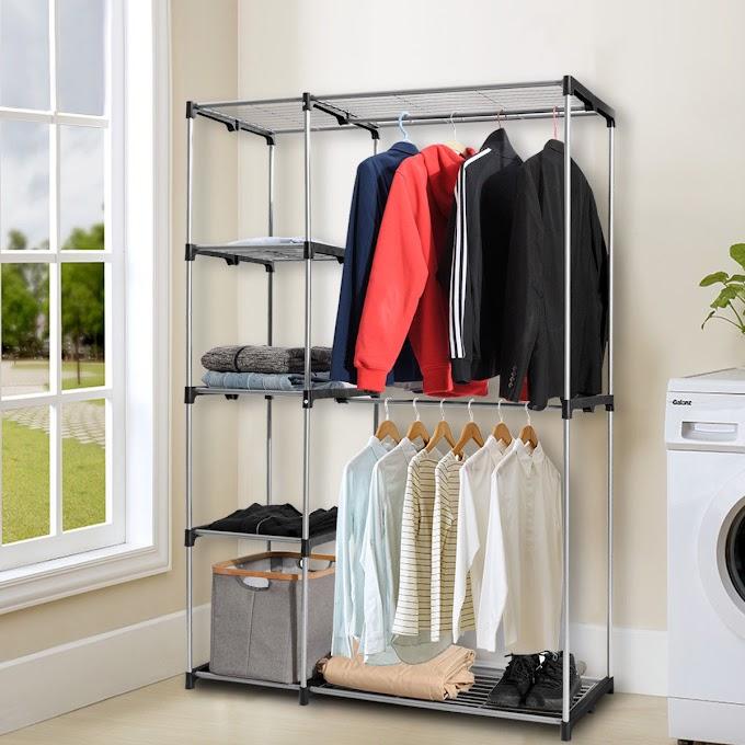 WALMART - Closet Organizer Garment Rack