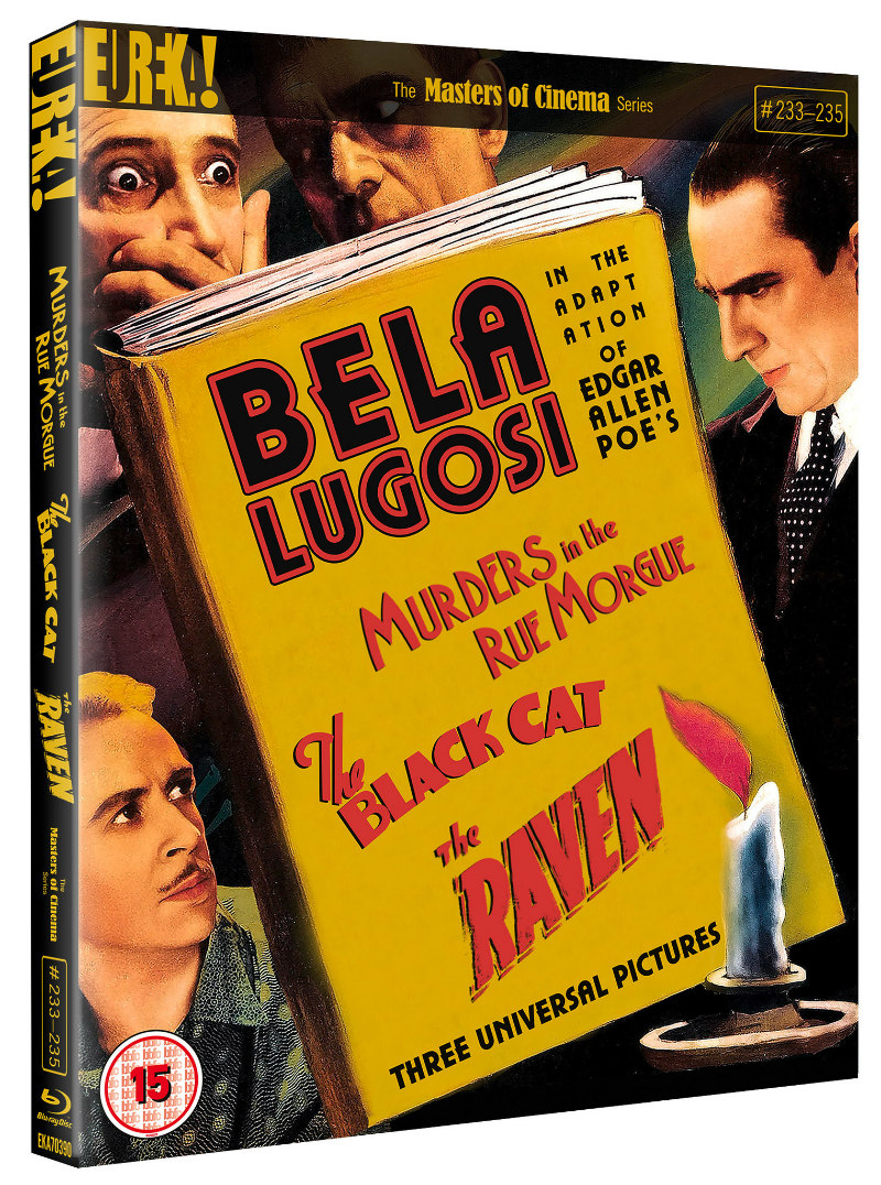 Three Edgar Allan Poe Adaptations Starring Bela Lugosi