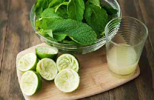 Soda chanh bạc hà thanh mát giúp giải nhiệt cơ thể trong ngày hè