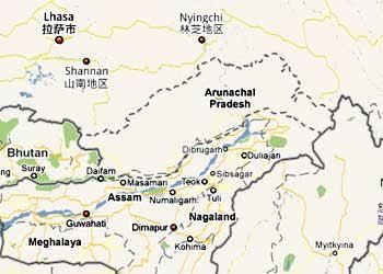 China tactics to occupy : arunachal pradesh