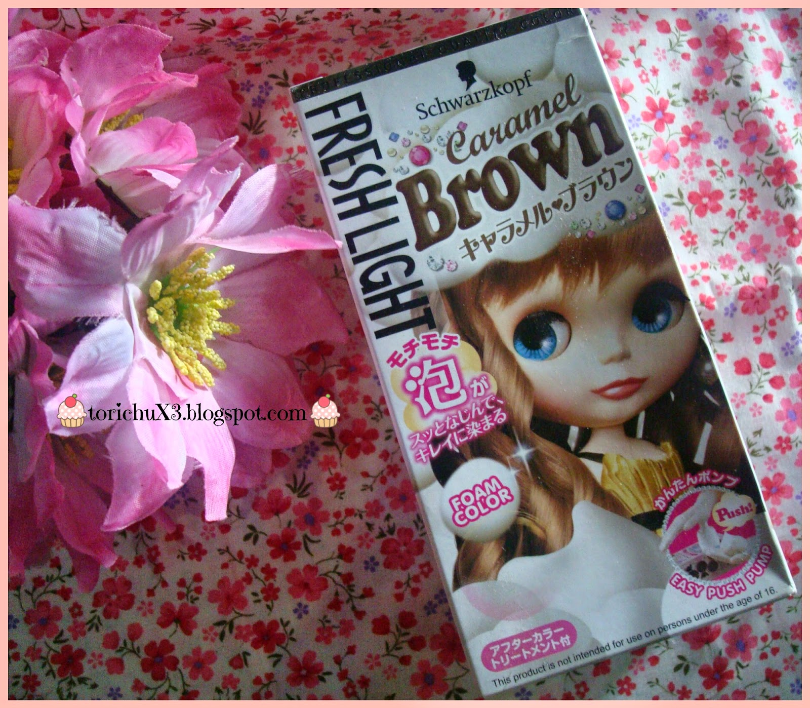 Tori Chu Review Schwarzkopf Freshlight Caramel Brown