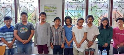 Sembilan Orang Ditangkap Pesta Ganja dari Komplek Sekolah di Siantar