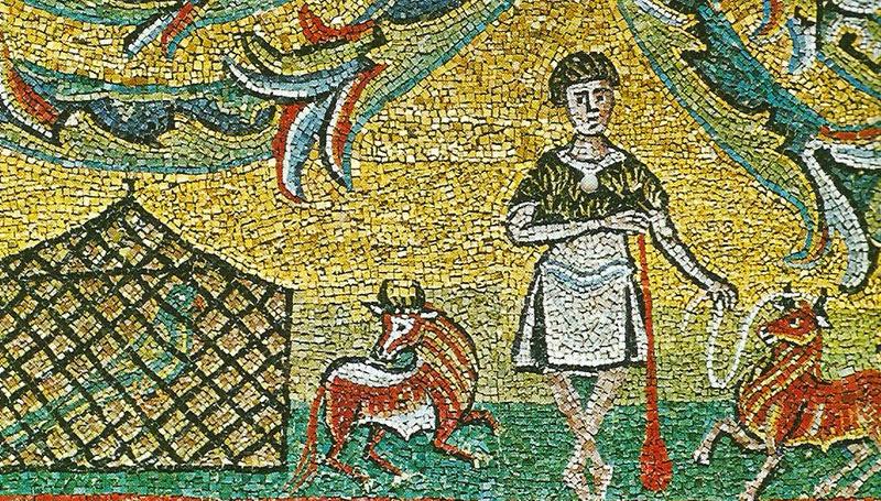 sao clemente mosaico detalhe - A Basílica de São Clemente