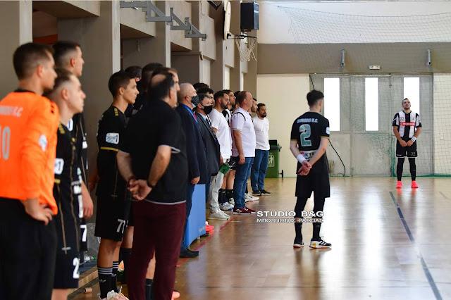 Ενός λεπτού σιγή στον αγώνα του Διομήδη Άργους με τον ΠΑΟΚ για την απώλεια του Γιάννη Χασιώτη