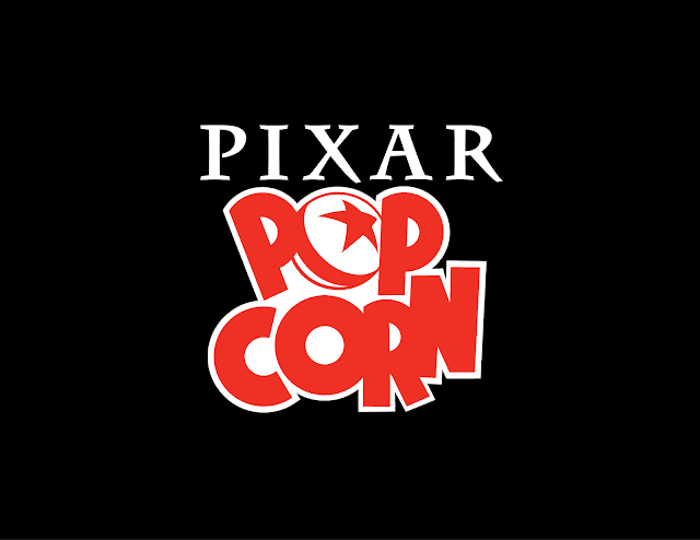 Pixar Popcorn Logo for Disney+