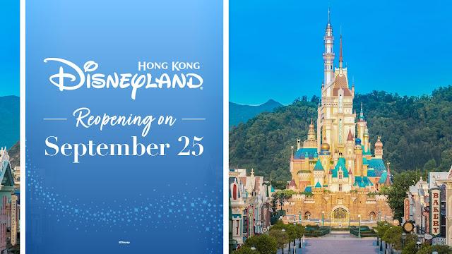 Hong Kong Disneyland Reopening Castle of Magical Dreams 香港迪士尼樂園重開 Disney Magical Kingdom Blog