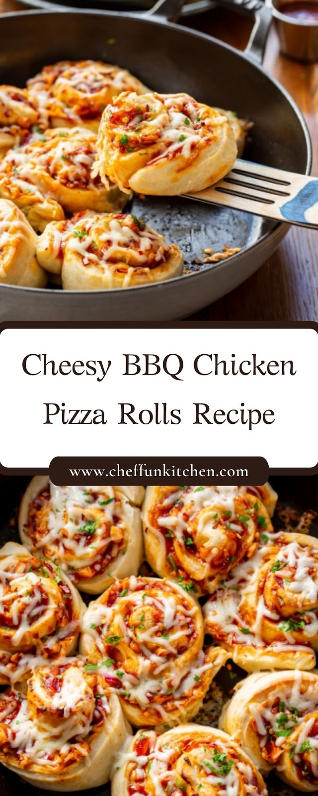Cheesy BBQ Chicken Pizza Rolls Recipe